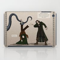 aragorn iPad Cases featuring Thankless Job by wolfanita