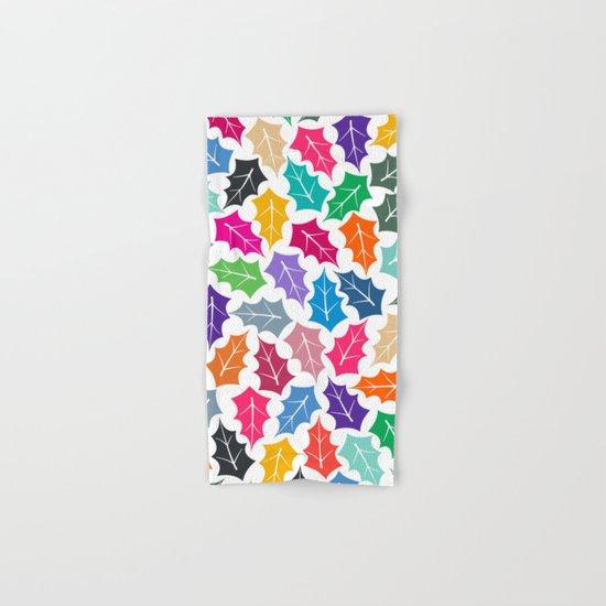 Colorful leaves II Hand & Bath Towel