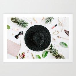 Tropical Background 08 Art Print