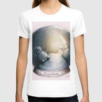 xmas T-shirts featuring xmas snowball by Konstantina Louka
