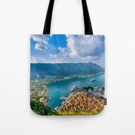 The Bay of Kotor Tote Bag