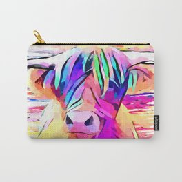 Highland Cow 3 Carry-All Pouch