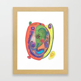 Drawing #52 Framed Art Print