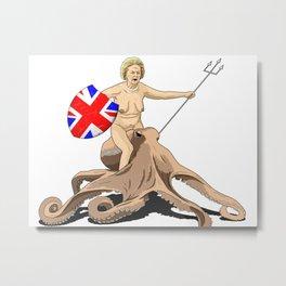 Thatcher rides again Metal Print