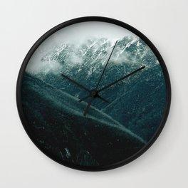 aussie mountains Wall Clock