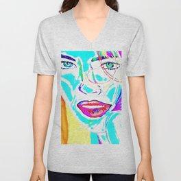 Hair In Rainbows Unisex V-Neck