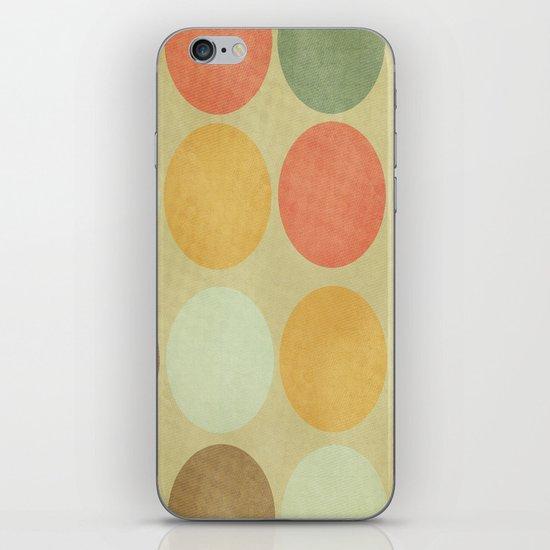Autumn Circles  iPhone & iPod Skin