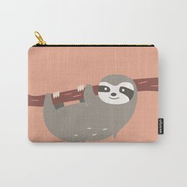 Sloth card - hello beautiful Carry-All Pouch