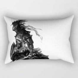Female knight Rectangular Pillow