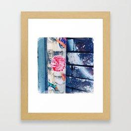 IndiSkull Framed Art Print
