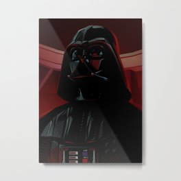"""DARTH VADER"" Dark Lord of the Sith Metal Print"