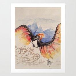 The Jian Art Print