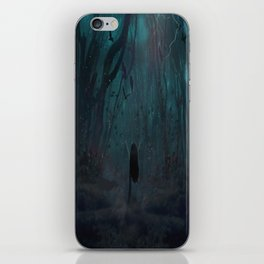 Lost In The World Of My Own iPhone Skin
