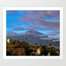 Volcano Teide on Tenerife Art Print