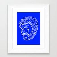 greek Framed Art Prints featuring Greek Cry by Bombarda