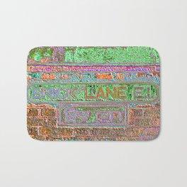 Brick Lane 3 B Bath Mat