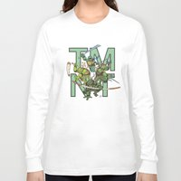 tmnt Long Sleeve T-shirts featuring TMNT by Ryan Liebe