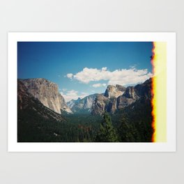 Yosemite Burning? Art Print