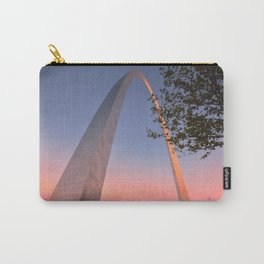 Gateway Arch at sunset in St. Louis, Missouri. Carry-All Pouch