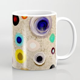 Strong Circles brown Coffee Mug