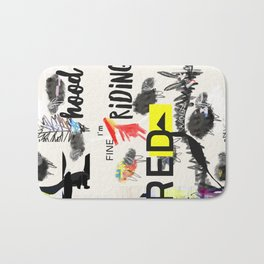 RRH graphic design Bath Mat