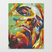 libra Canvas Prints featuring Libra by Jose Rivas