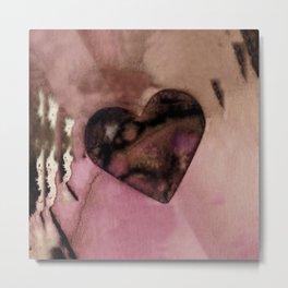 Heart Dreams 2P by Kathy Morton Stanion Metal Print