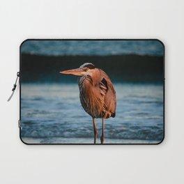 Hank the Heron Laptop Sleeve