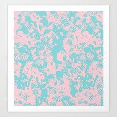 Sweet butterflies Art Print