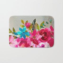 Flowers bouquet #39 Bath Mat