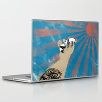 pandas Laptop & iPad Skins featuring pandas by Jonathan Sanchez Vargas