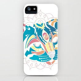 huichol ocelot  iPhone Case