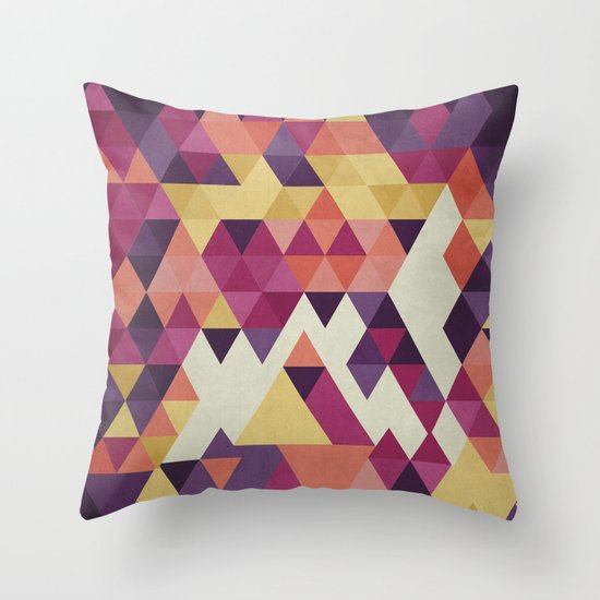 Geometri III Throw Pillow