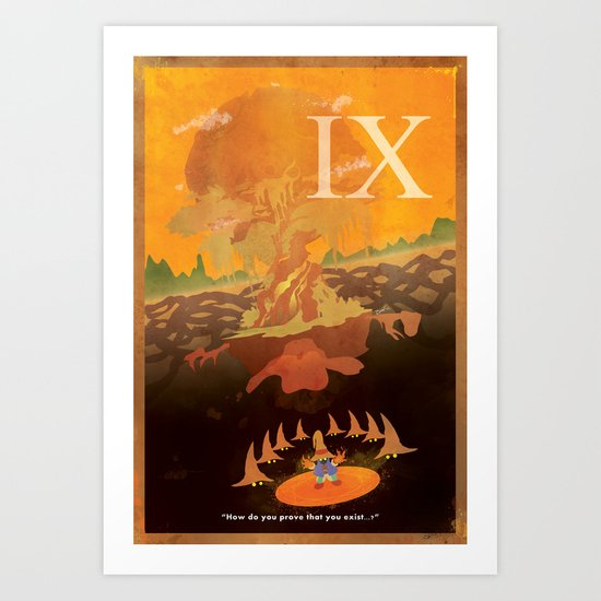 Vintage FF Poster IX Art Print