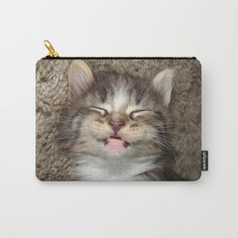 Kitten Smile Carry-All Pouch