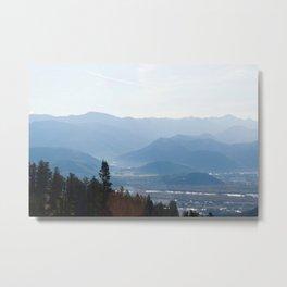 View from Teton Pass Metal Print