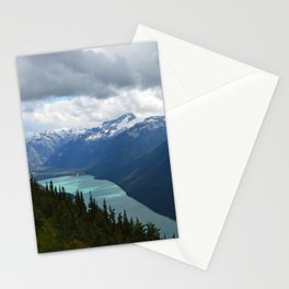 Whistler trails Stationery Cards