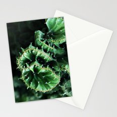 Emerald green Cactus Botanical Photography, Nature, Macro, Stationery Cards