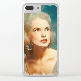 Janet Leigh, Hollywood Legend Clear iPhone Case