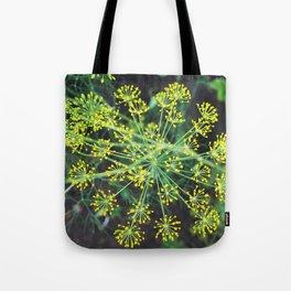 fresh flower of fennel Tote Bag
