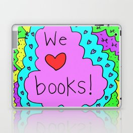 We love books! Laptop & iPad Skin