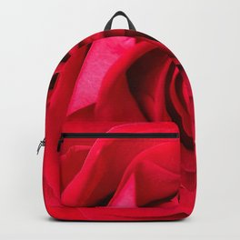 Red Rose Close-up #decor #society6 #buyart Backpack