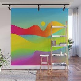 Abstract Desert Wall Mural