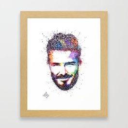 BECKHAM Framed Art Print