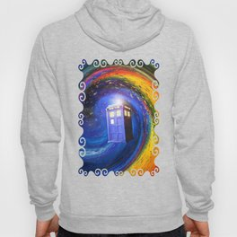 Tardis Doctor Who Fly into Time Vortex Hoody