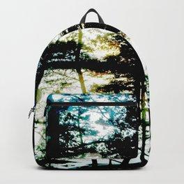 Light leaks of evening sun Backpack