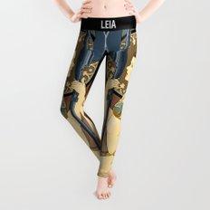Slave Leia Art Nouveau Leggings