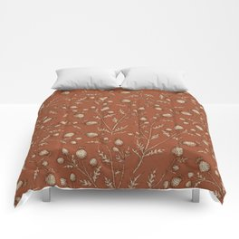 Thistle in Autumn Comforters