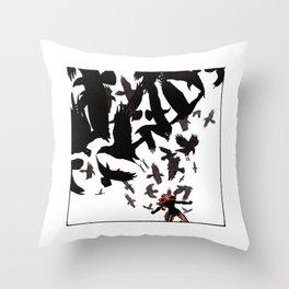 Ability to summon ravens Throw Pillow