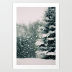 Winter Daydream #3 Art Print
